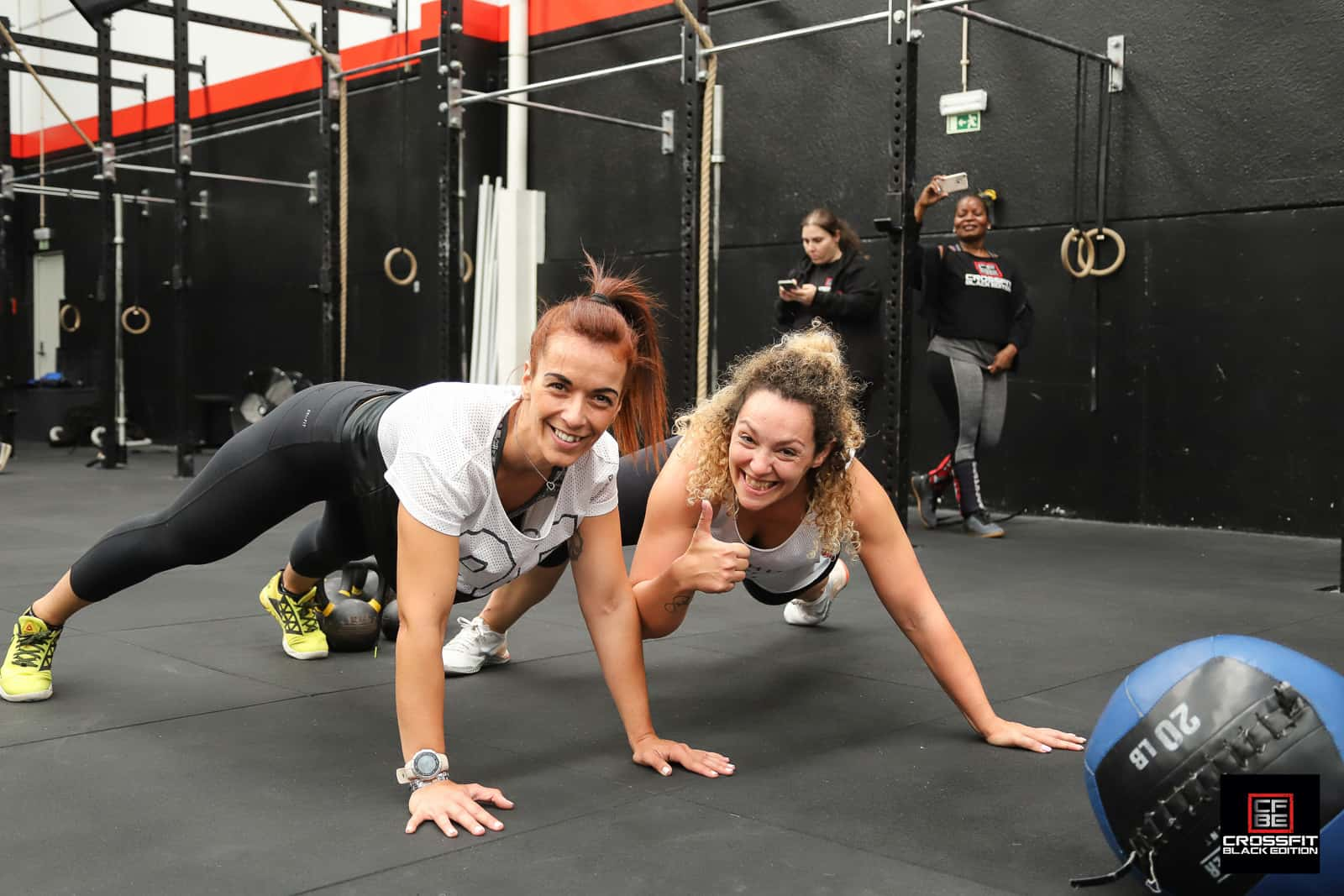 CrossFit Class at Black Edition