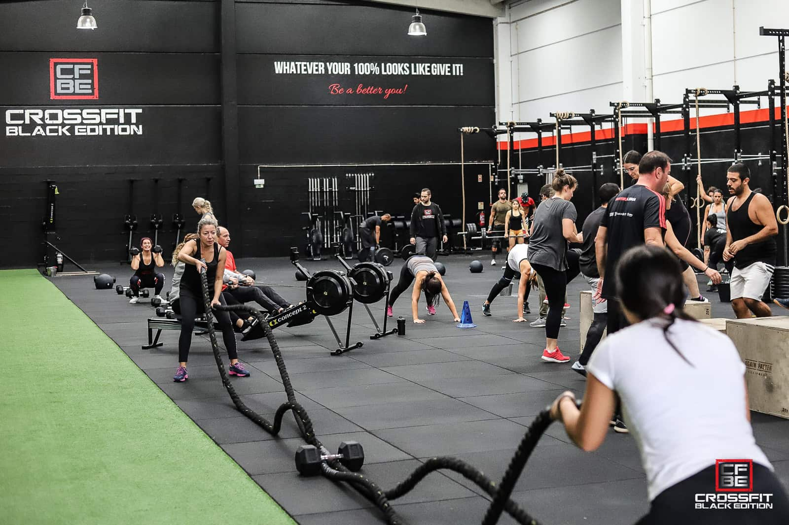 MetCon Class at Black Edition